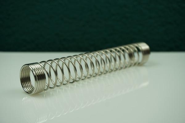 Knickschutz für Shishaschläuche l Knickschutz für Shishaschläuchek für die Shishia | Aus Aluminium | Einfacher Gebrauch | Schneller Versand