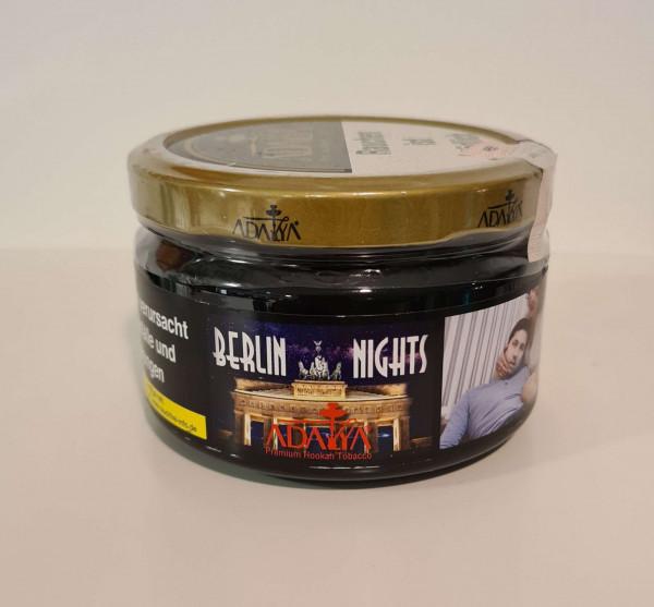 Adalya Shisha Tabak Berlin Nights 200g ♥ Pfirsich ✔ ATH Mix für Originalgeschmack gleich dazu kaufen ✔ Intensiver Geschmack ✔ Schneller Versand ✔