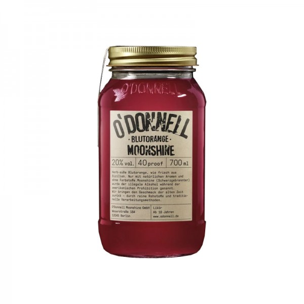 O'Donnell Moonshine Blutorange (700ml, 20%vol.)