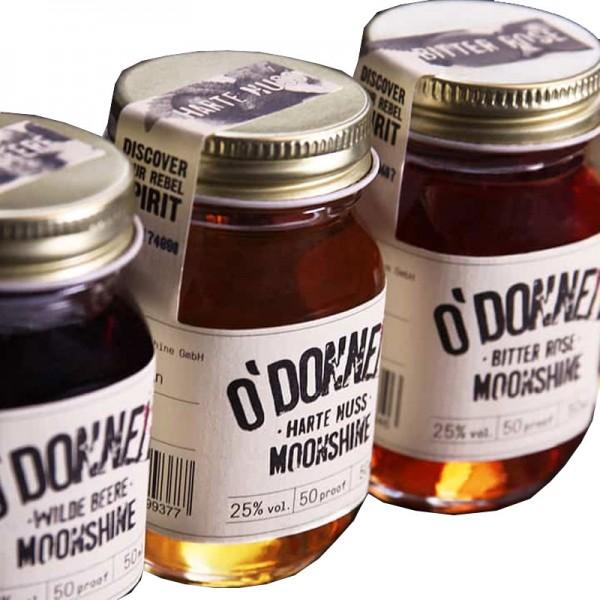 O'Donnell Moonshine Mini Set Likör (4x50ml)