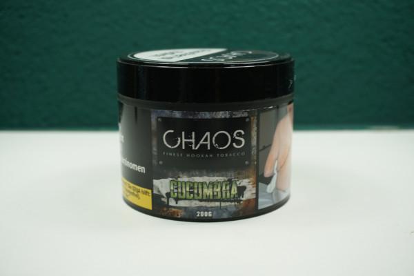 Chaos Shisha Tabak Cucumbra 200g ♥ Frische Gurke. ✔ Intensiver Geschmack ✔ Schneller Versand ✔ Nur ab 18 Jahren!