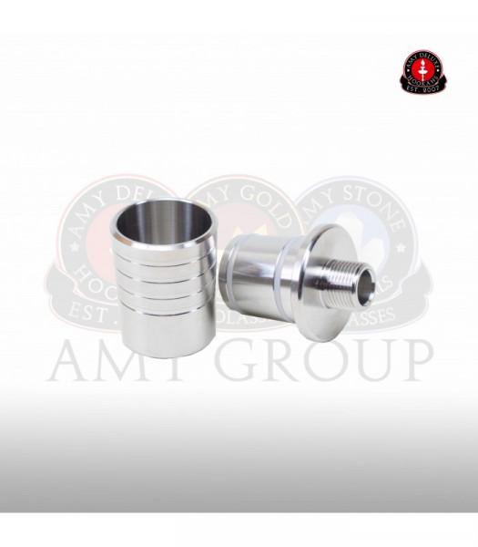 AMY Schraub Adapter für Molassenfänger l Kompatibel mit allen AMY Shishen   Premiumqualität   Einfacher Gebrauch   Schneller Versand