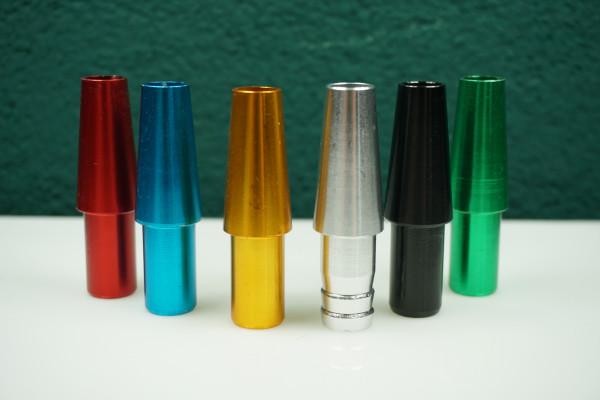 Mundstück Anschluss l Mundstück Anschluss für die Shishia | Aus Aluminium | Einfacher Gebrauch | Schneller Versand