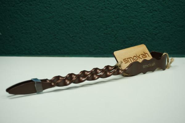 Smokah Ringel Shishakohlen-Zange  l Sicher Shishakohle manövrieren | Premiumqualität | Einfacher Gebrauch | Schneller Versand