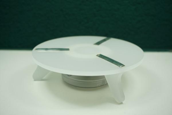 Oduman LED Shisha Untersetzer Klein l Stylisher LED-Effekt | Premiumqualität | Einfacher Gebrauch | Schneller Versand